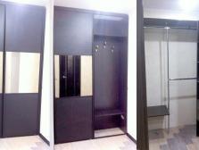 Фасады - зеркало бронза/панель мдф 3D с пленкой;Корпус -  ЛДСП ЮграПлит Дуб Тортона.